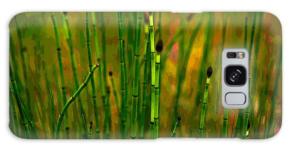 Snake Grass Galaxy Case