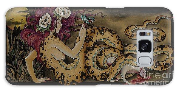 Snake Lady Galaxy Case
