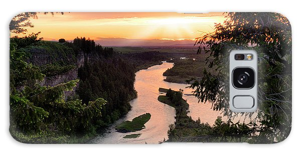 Snake River Sunset Galaxy Case