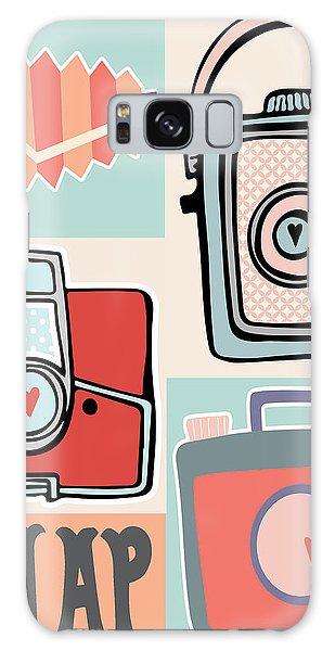Camera Galaxy Case - Snap - Vintage Cameras by Colleen VT