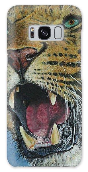 Snarl...amur Leopard Galaxy Case