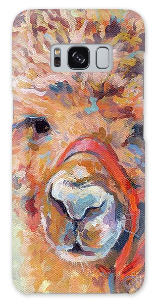 Llama Galaxy S8 Case - Snickers by Kimberly Santini