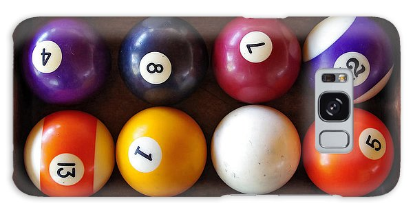 Snooker Balls Galaxy Case by Carlos Caetano