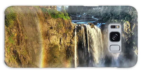 Snoqualmie Falls, Washington Galaxy Case