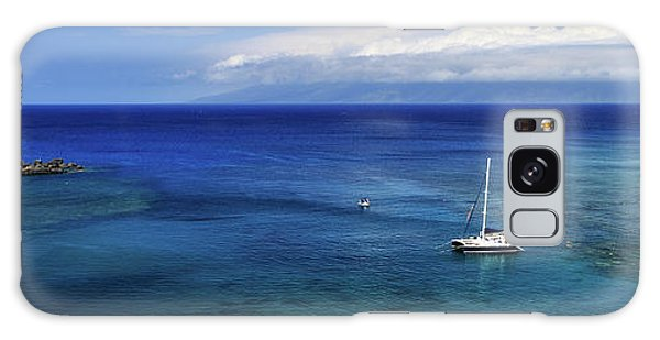 Snorkeling In Maui Galaxy Case by James Eddy