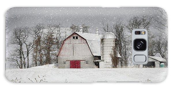 Snow Barn Galaxy Case