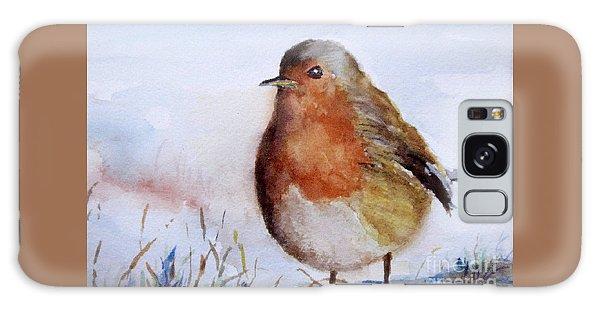 Snow Bird Galaxy Case by William Reed
