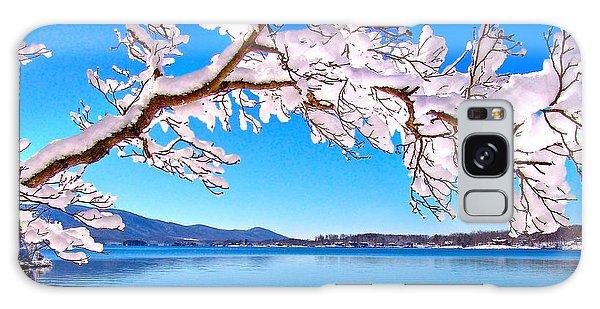 Snow Branch Smith Mountain Lake Galaxy Case by The American Shutterbug Society