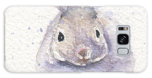 Snow Bunny Galaxy Case