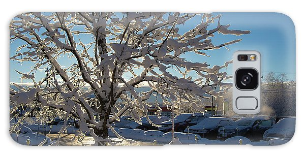 Snow-coated Tree Galaxy Case