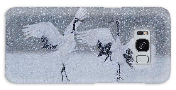 Snow Dancers Galaxy Case