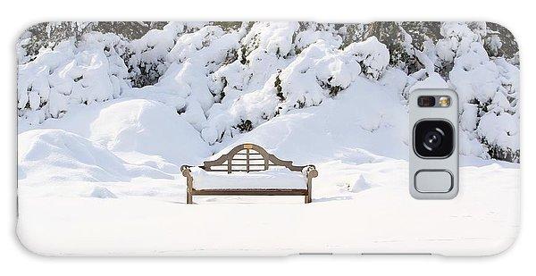 Snow Dwarfed Bench Galaxy Case