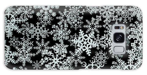Snow Flakes  Galaxy Case
