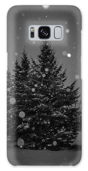 Snow Flakes Galaxy Case by Annette Berglund
