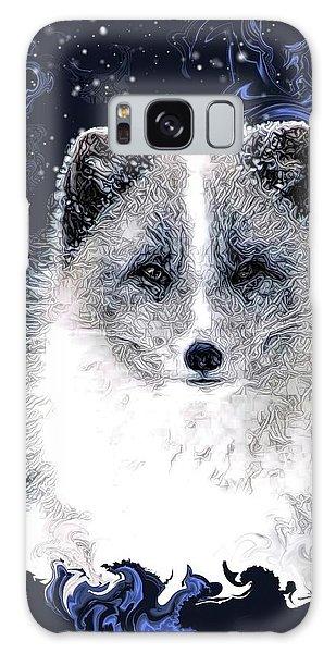 Snow Fox Galaxy Case