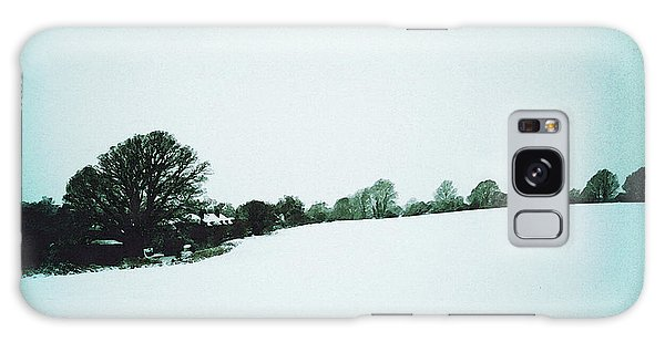 Snow In Sussex Galaxy Case
