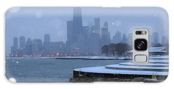 Snowy Chicago Galaxy Case