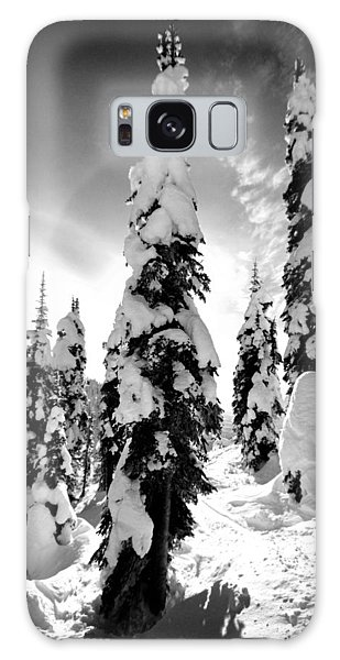 Snow Laden Tree Galaxy Case