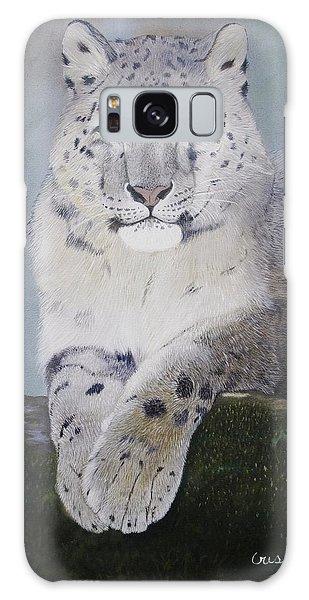 Snow Leopard Galaxy Case