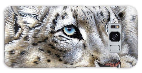 Snow-leopard's Dream Galaxy Case