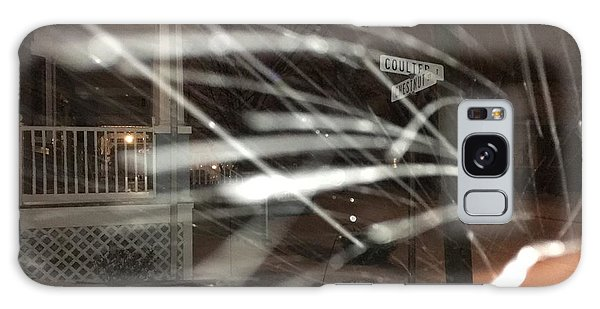 Snow On Coulter Galaxy Case