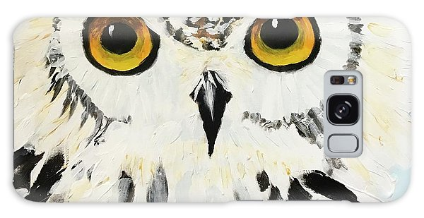 Snow Owl Galaxy Case