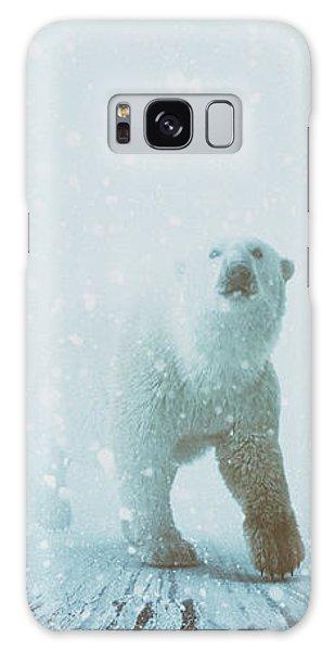 Polar Bear Galaxy S8 Case - Snow Patrol by Katherine Smit