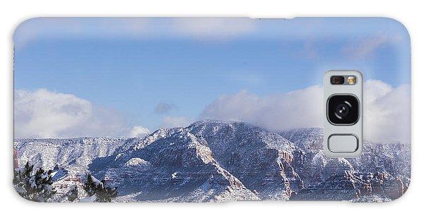 Snow Rim Galaxy Case by Laura Pratt