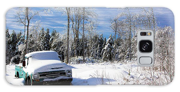 Snow Truck Galaxy Case