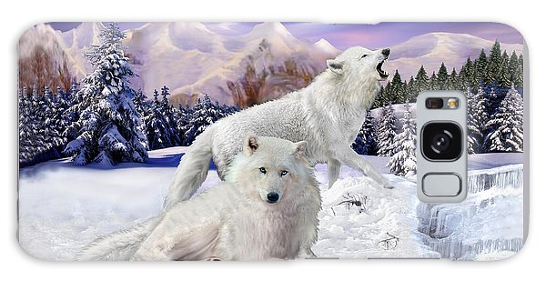 Snow Wolves Of The Wild Galaxy Case