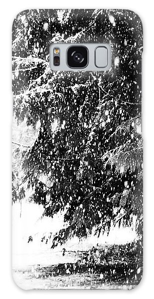 Galaxy Case featuring the photograph Snow by Yulia Kazansky