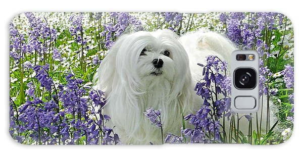 Snowdrop In The Bluebell Woods Galaxy Case