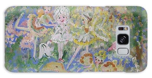Snowdrop The Fairy And Friends Galaxy Case by Judith Desrosiers