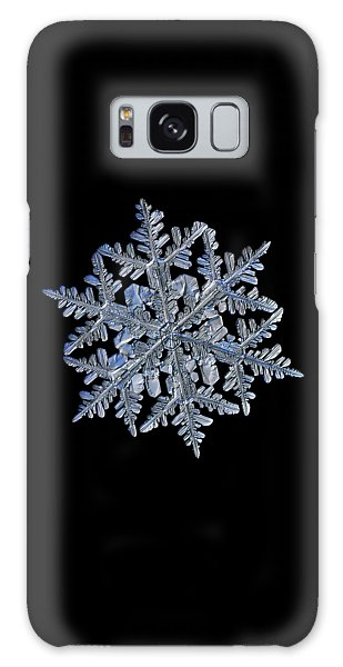Snowflake Macro Photo - 13 February 2017 - 3 Black Galaxy Case