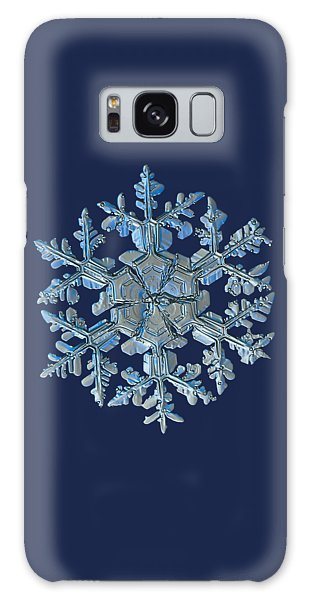 Snowflake Photo - Gardener's Dream Galaxy Case