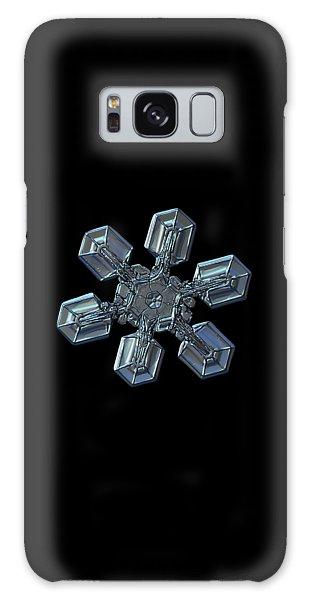 Snowflake Photo - High Voltage II Galaxy Case