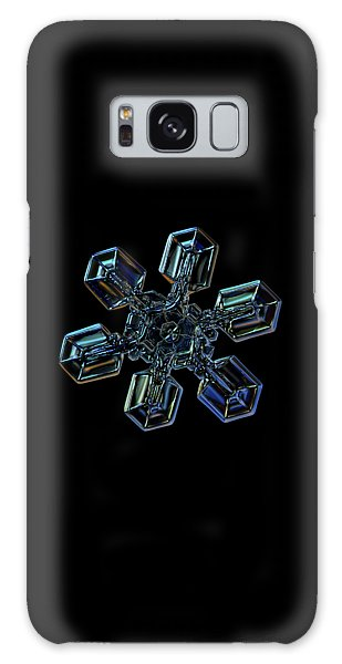 Snowflake Photo - High Voltage IIi Galaxy Case