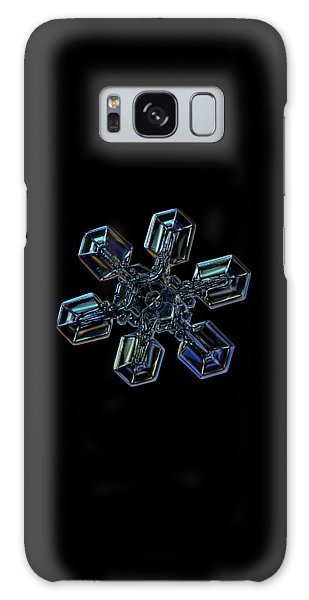 Snowflake Photo - High Voltage IIi Galaxy Case