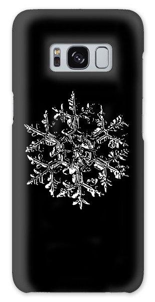 Winter Galaxy Case - Snowflake Vector - Gardener's Dream Black Version by Alexey Kljatov