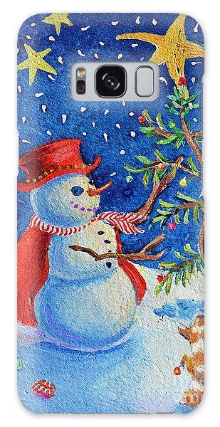 Snowmas Christmas Galaxy Case