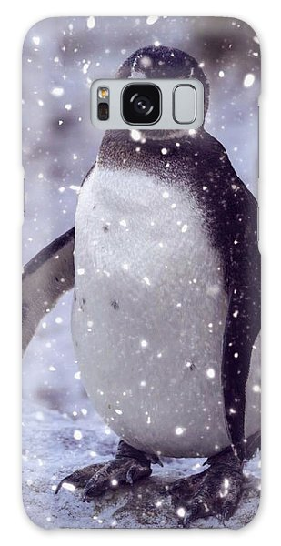 Snowpenguin Galaxy Case by Chris Boulton