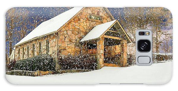 Snowy Cloudland Presbyterian Church  Galaxy Case