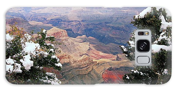 Snowy Dropoff - Grand Canyon Galaxy Case