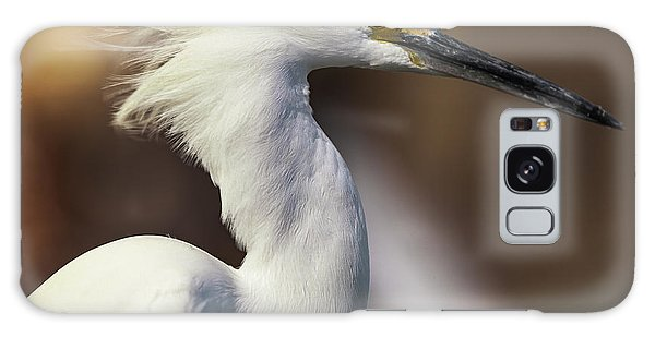 Snowy Egret Galaxy Case by Jason Moynihan