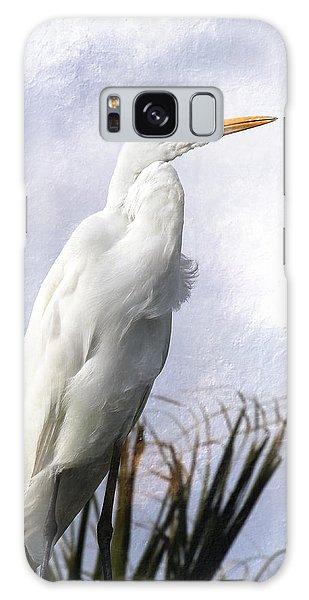 Snowy Egret Galaxy Case
