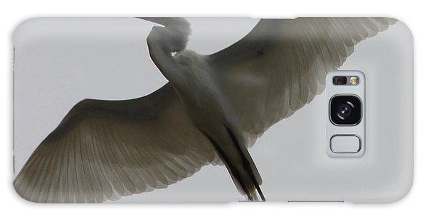 Snowy Egret Wings Of An Angel Galaxy Case