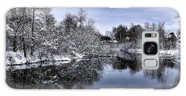 Snowy Ellicott Creek Galaxy Case