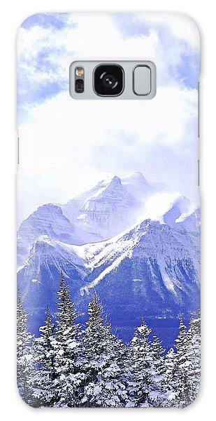 Wilderness Galaxy Case - Snowy Mountain by Elena Elisseeva