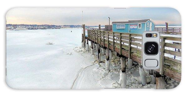 Snowy Pier Boots Galaxy Case