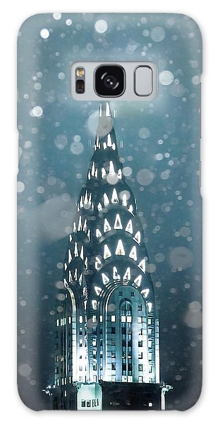 Snowy Spires Galaxy Case by Az Jackson